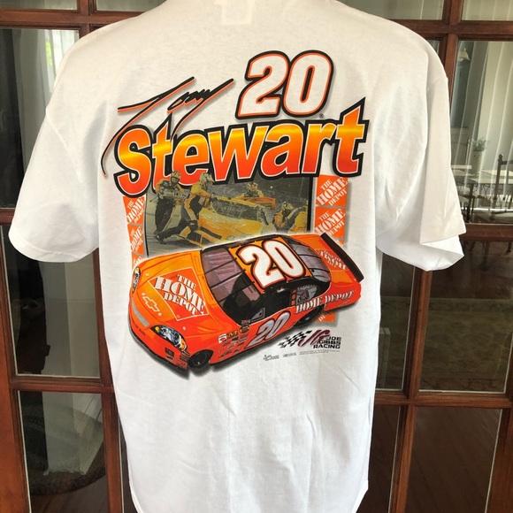 3e118f52fbfeed Chase Authentics Shirts | Tony Stewart Nascar Home Depot T Shirt New ...